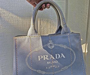 Prada, filtered, and blue aesthetic image