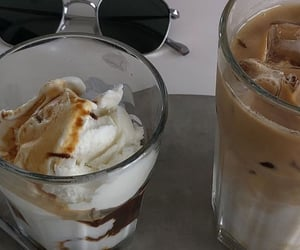 cafe, caramel, and coffee image