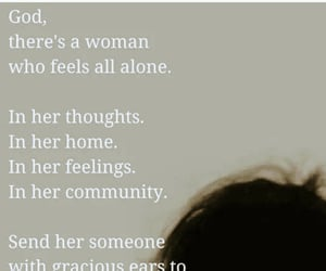 god, lonely, and lonliness image