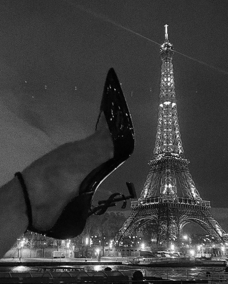 paris, aesthetic, and black and white image