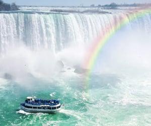 niagara falls and travel image