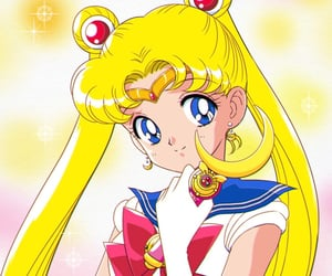 90s, sailor venus, and manga image