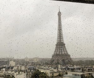aesthetic, eiffel tower, and paris image
