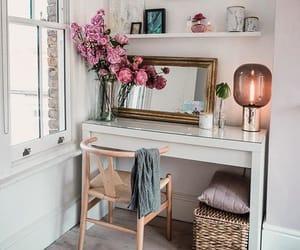 apartment, interior, and mirror image