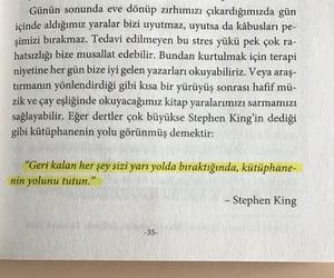 Stephen King, edebiyat, and alıntı image