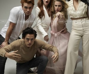 cole sprouse, kj apa, and lili reinhart image