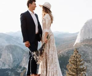 wedding gown, wedding idea, and wedding dress image