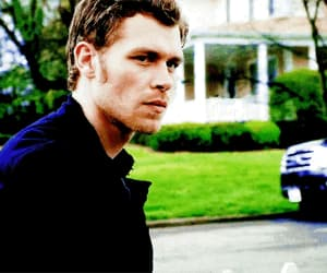 gif, tvd, and klaus mikaelson image