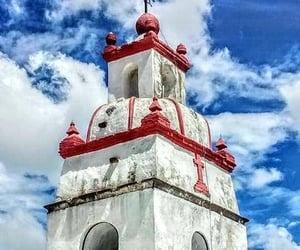 iglesia, pueblo, and religión image