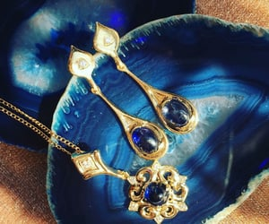 bijoux, bling, and blue image