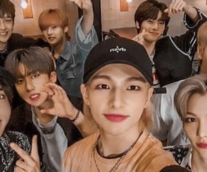 felix, changbin, and stay image