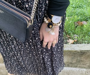 arm candy, bracelets, and autumn outfit image