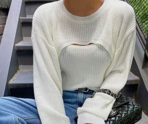 casual, chanel bag, and comfort image