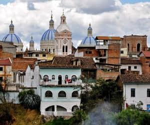 city, ecuador, and wanderlust image