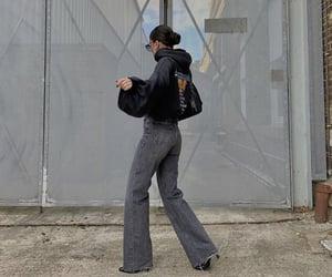 black heels, everyday look, and puff sleeve image