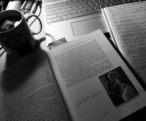books, coffee, and season image