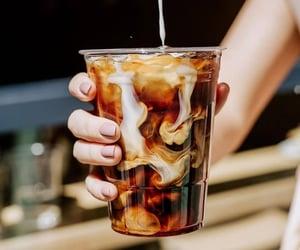 coffee, drinks, and beauty image