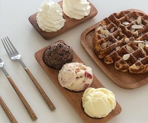 aesthetic, food, and ice cream image