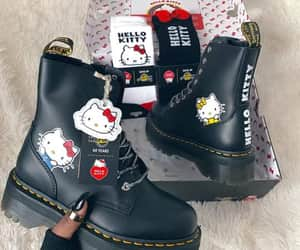 boots, hello kitty, and cute image