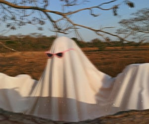 ghost, Halloween, and nature image