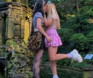 couple, lesbian, and Relationship image