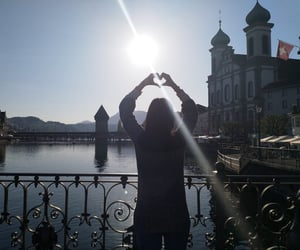 heart, lucerne, and love image