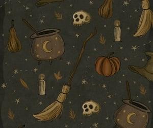 bruja, magia, and Halloween image