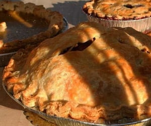 pie, food, and aesthetic image
