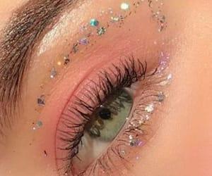 beautiful eye makeup, beautiful eyes, and eye image