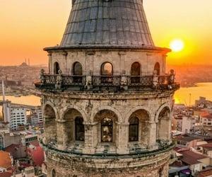 istanbul, turkey, and galatakulesi image