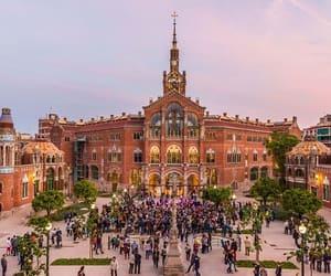 Barcelona, hospital, and europe image