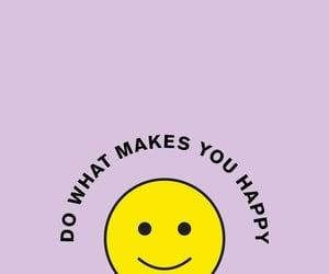 happy, purple, and yellow image