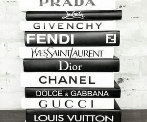 book, chanel, and dior image