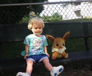 dolls, playground, and eevee image