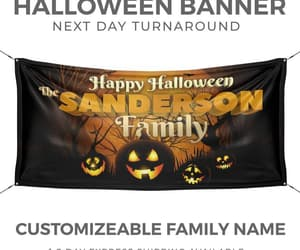 etsy, halloween pumpkin, and personalized sign image