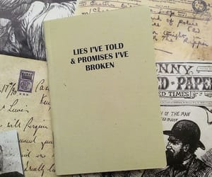 journal, notebook, and promises image