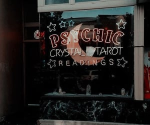 aesthetic, tarot, and psychic image