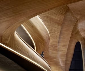 architecture, mad architects, and wood image