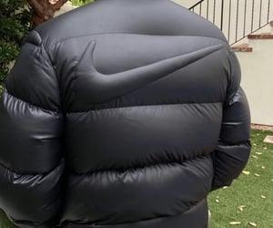 fashion, jacket, and swoosh image