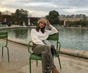 beret, blogger, and chanel image