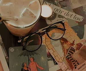 coffe, deck, and glasses image
