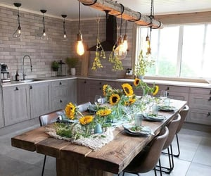kitchen, lightning, and home goals image