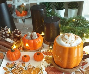 autumn, breakfast, and candles image