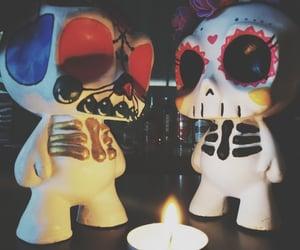 dia de muertos, vintage, and fiestas image