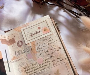 inspiration, journal, and vintage image
