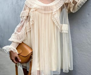 blogger, outfit, and oversized dress image