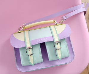 bag, hand bag, and fashion image