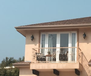 balcony, italy, and malibu image