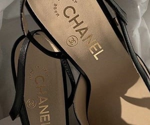 shoes, aesthetic, and chanel image