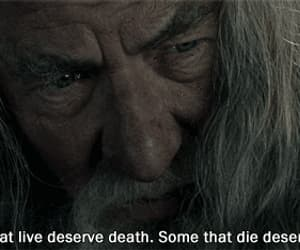 gif, the lord of the rings, and ian mckellen image